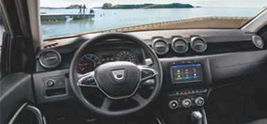 Dacia interiör